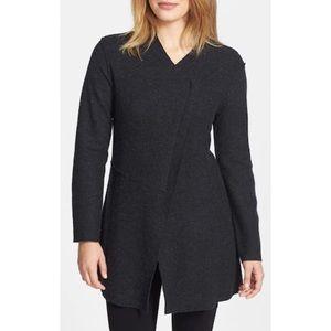Eileen Fisher Asymmetrical Wool Jacket